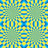 picture of optical  - Optical illusion of motion - JPG