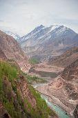 picture of karakoram  - Idyllic of Mountain and Valley in Northern area of Pakistan - JPG