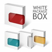 stock photo of packages  - Cardboard Package Box - JPG