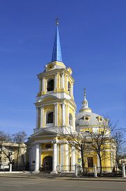 foto of ascension  - Church of the Ascension on the field pea in Moscow - JPG