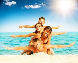 picture of beach holiday  - Vacation - JPG