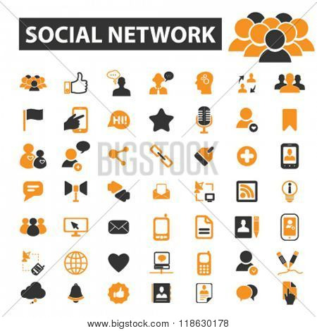 Social Network Icons Social Network Logo Social Media Icons Vector