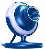 Web Cam Blue