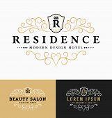 Luxurious Royal Logo Vector Re-sizable Design poster