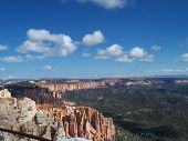 Bryce Canyon Meets The Sky