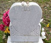 Heart Grave Stone