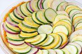 sliced vegetable casserole