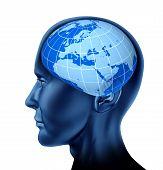 head brain europe poster