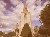 ������, ������: St Mary Magdalene Church In Tanworth In Arden Vintage