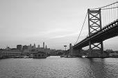 Ben Franklin Bridge Philadelphia