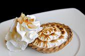Lemon Cream Pie (individual portion)