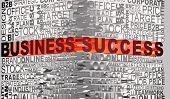 Business Words Related With Word Success