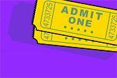 Admittance Ticket