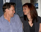LOS ANGELES - JUL 16:  Al Corley, Pamela Sue Martin at the Hollywood Show at Burbank Marriott Conven