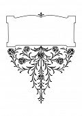 victorian ornate scroll design elements