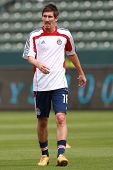 CARSON, CA. - APRIL 10:  Chivas USA M Sacha Kljestan #16 before the Chivas USA vs New York Red Bulls