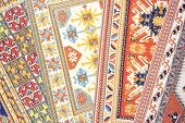 picture of tabriz  - Arabian silk carpet - JPG
