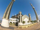 Crystal Mosque or Masjid Kristal in Kuala Terengganu, Terengganu, Malaysia, Asia.