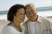 stock photo of early 60s  - Senior Newlyweds - JPG