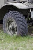 Military Truck Front Wheel