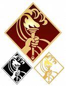 Torch emblem