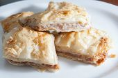 Plate of Middle Eastern Baklava