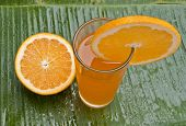 fresh healthy refreshing orange juice