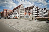 stock photo of polonia  - historic city of Gdansk - JPG