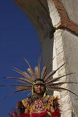 Menina tribal
