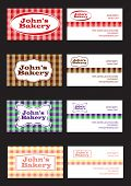 Bakery Theme Card 2