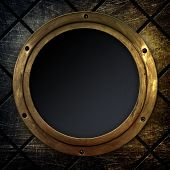old porthole background