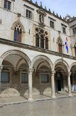 Sponza palace in Dubrovnik, Croatia