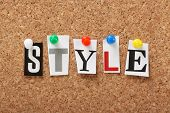 The word Style