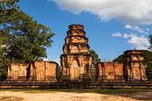 SIEM REAP, CAMBODIA - DEC 13: Angkor Wat - is the largest Hindu temple complex and religious monumen