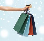 stock photo of overspending  - shopping - JPG