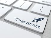Keyboard with Overdraft Button.