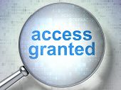 Safety concept: Access Granted with optical glass