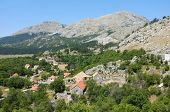 Njegusi is a village within the Lovcen National Park, Montenegro. The village is best known as the b