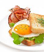 breakfast with bread