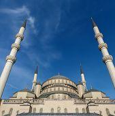 Kocatepe Mosque In Ankara Turkey