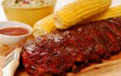 Bbq Ribs And Corn