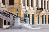 Vienna, Austria - June 17: Schonbrunn Palace On March, 20, 2014 In Vienna, Austria. It Was A Royal R