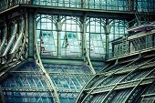 picture of schoenbrunn  - The Palmenhaus at palace Schoenbrunn Vienna Austria - JPG