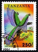 Postage Stamp Tanzania 1994 Archaeopteryx, Prehistoric Animal