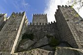 Guimaraes Castle, the most famous castle in Portugal as it was the birth place of the first Portugue