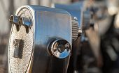 foto of empire state building  - typical Binocular details On Empire State Building - JPG