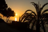 pic of costa blanca  - Sunrise on scenic Altea bay Costa Blanca Spain - JPG