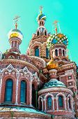 Cupola Of The Church Of The Savior On Blood, St Petersburg, Russia