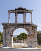 Hadrian's gate, Athens Greece