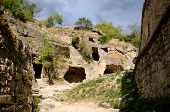 Medieval Fortress Town Chufut-kale, Bakhchisaray, Crimea